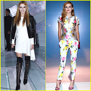 Bella Thorne Changes Up Her Look for Two Different Fashion Shows!