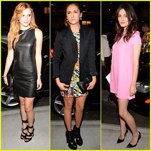 Rihanna Calls Bella Thorne 'Beautiful' After Versus Versace Show at NYFW