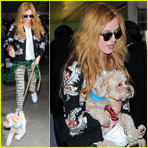 Bella Thorne is Back Home Following Milan Fashion Week