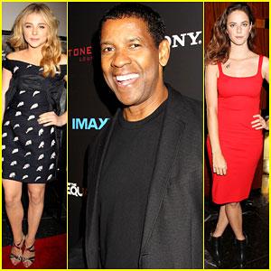 Chloe Moretz & Denzel Washington Bring 'The Equalizer' to NYC!