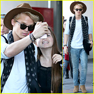 Cody Simpson is Psyched to Be Back in His Home Country!