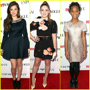 Hailee Steinfeld & Willow Shields Are Red Carpet Ready at Teen Vogue's Young Hollywood Party 2014!