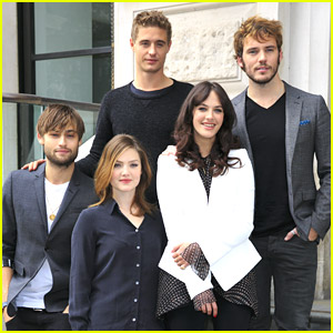 Sam Claflin, Douglas Booth & Max Irons Join 'The Riot Club' For Photo Call