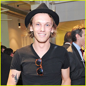 Jamie Campbell Bower Says People with The Darling Buds Lyrics Tattooed On Them Are Amazing!