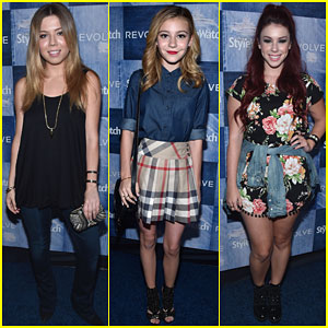 Jennette McCurdy & G. Hannelius Are Pretty Ladies at People StyleWatch Denim Event!