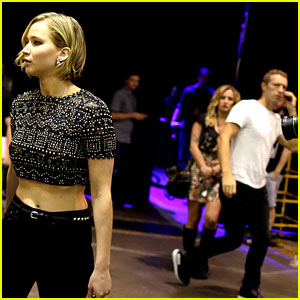 Jennifer Lawrence Pictured with Chris Martin for First Time!