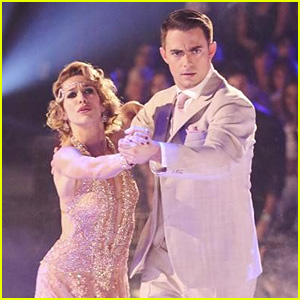 Jonathan Bennett & Allison Holker Get Serious for the Tango on 'DWTS' - See the Pics!