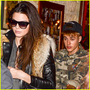 Justin Bieber & Kendall Jenner Grab Dinner Together in Paris - See the Pics!