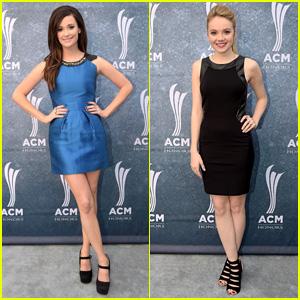 Kacey Musgraves & Danielle Bradbery Attend ACM Honors 2014