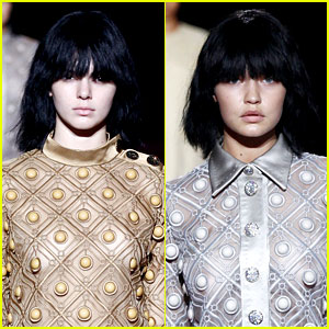 Kendall Jenner & Gigi Hadid Go Without Makeup for Marc Jacobs Show!