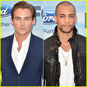 Kevin Zegers & Kendrick Sampson Celebrate 'Gracepoint' at Fox Fall Eco-Casino Party