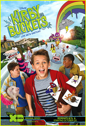 Get An Exclusive Sneak Peek of Disney XD's 'Kirby Buckets'!