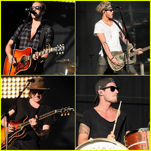 Lawson Rocks Out at Fusion Festival!
