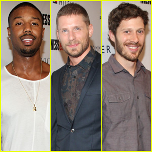 Michael B. Jordan, Matt Lauria, & Zach Gilford Make it a Mini 'Friday Night Lights' Reunion!