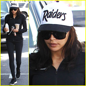 Naya Rivera Shows Her Brother Some Support While Running Errands!
