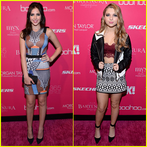 Ryan Newman & Sammi Hanratty Buddy Up for Mulitple NYFW Events!