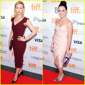 Sarah Gadon & Ice Dancer Tessa Virtue Hit Up TIFF Opening Gala