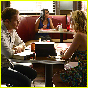 Alaric Chats Up Caroline in Brand New 'Vampire Diaries' Season 6 Premiere Stills!