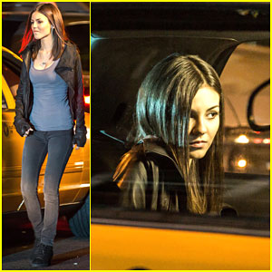 Victoria Justice Slams a Cab Door During an Emotional Phone Call!