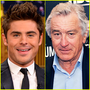 Zac Efron to Star in 'Dirty Grandpa' with Robert De Niro!