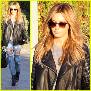 Ashley Tisdale Says She Has A Valid Reason For Spending Time At Salons - Buzzy's!