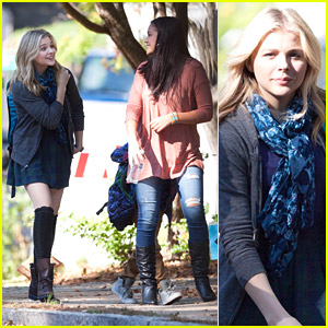 Chloe Moretz Gets To Work On '5th Wave' Movie