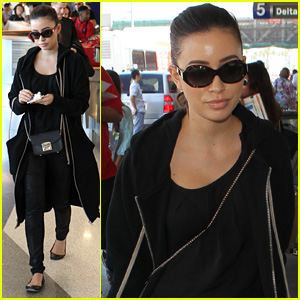 Christian Serratos Flies the Skies After 'Walking Dead' Premiere