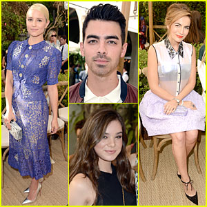Dianna Agron & Camilla Belle Doll Up at CFDA/Vogue Fashion Fund Event