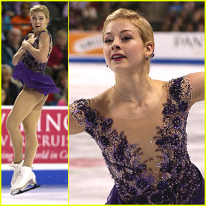 Gracie Gold Skates Her Way To A Bronze Medal At Skate America 2014