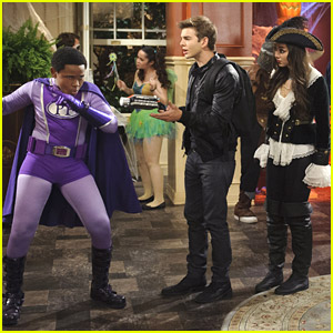 Get A Sneak Peek From 'The Haunted Thundermans' Halloween Crossover Episode!