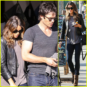 Ian Somerhalder & Nikki Reed Spend Their Thursday Together Shopping!