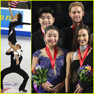 Madison Chock & Evan Bates WIN Ice Dance Title at Skate America 2014!