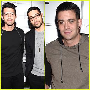 Joe Jonas Powers Up The Notepad Samsung Event