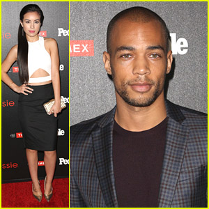 Madalyn Horcher & Kendrick Sampson Hit Up People's One To Watch Party