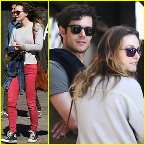 Leighton Meester Lunches with Adam Brody & Family