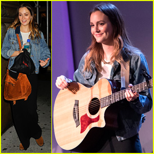 Leighton Meester is Making Music for People Who Don't Listen to Pop Music