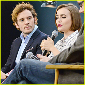 Lily Collins Could Be Herself On 'Love, Rosie' Set
