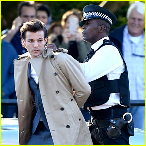 Louis Tomlinson Gets Arrested for Music Video Shoot!