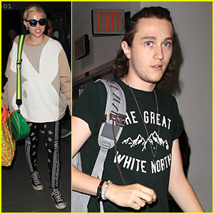 Miley Cyrus Brings Brother Braison On Bangerz World Tour