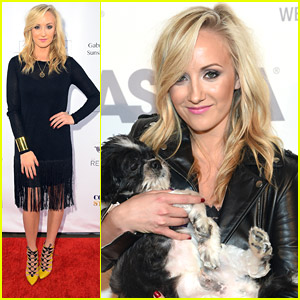 Nastia Liukin Rocks Hot Caged Yellow Heels For ASPCA's Young Friends Benefit