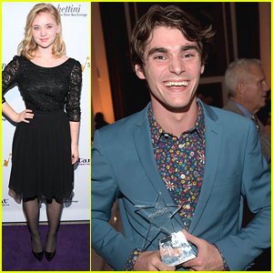RJ Mitte Receives Starbright World Inspiration Award at Starlight Awards 2014