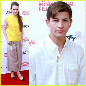 Kaitlyn Dever & Tye Sheridan Are Variety's Actors To Watch at Hamptons Film Festival