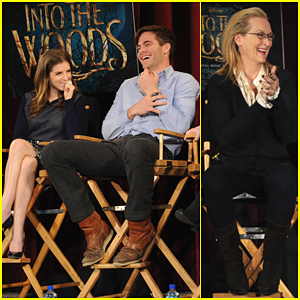 Anna Kendrick Discusses 'Into the Woods' with Her Co-Stars - Watch Here!
