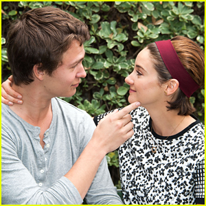 Ansel Elgort & Shailene Woodley Recreated 'The Fault In Our Stars' Bench Scene & It's Absolutely Adorable