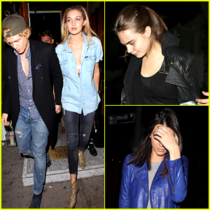 Gigi Hadid & Cody Simpson Enjoy Date Night with Pals Cara Delevingne & Kendall Jenner!