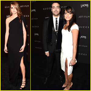 Cara Delevingne & Michelle Rodriguez Hit Up the LACMA Art + Film Gala!