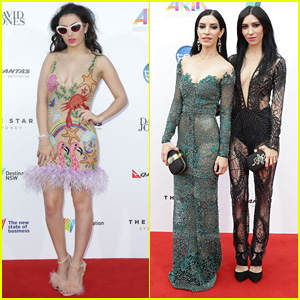 Charli XCX Rocks Furry Fringe at Australia's Aria Awards 2014