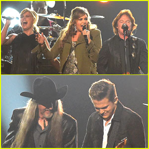Hunter Hayes Joins Doobie Brothers for CMA Awards 2014 Performance!
