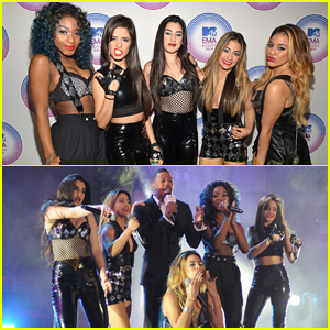 Fifth Harmony Rock the MTV EMAs in Miami!