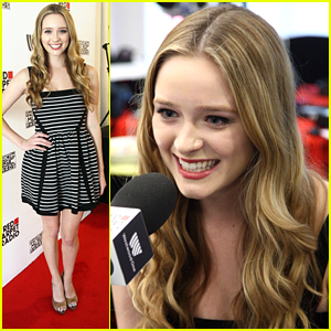 Greer Grammer Screamed When She Found Out She Was Miss Golden Globe